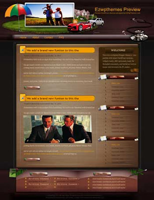 Insurance Ensure Safety blogger template. free blogspot template download. business blog blogger template