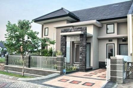 bentuk rumah minimalis berlantai 1 type 100 | desain rumah