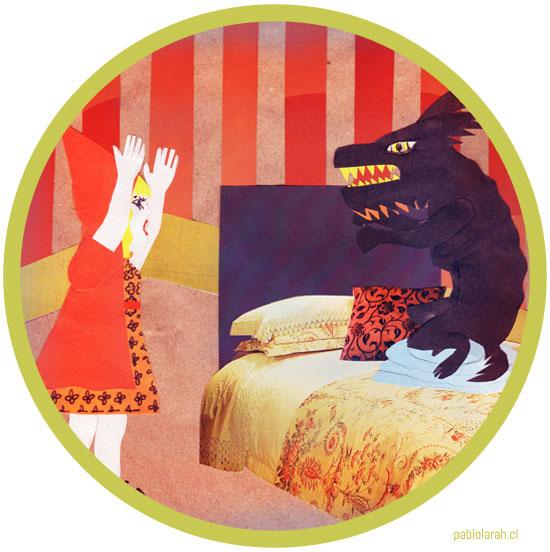 Little Red Riding Hood - Caperucita - Caperuza - Capirusa - Pablo Lara H 2009