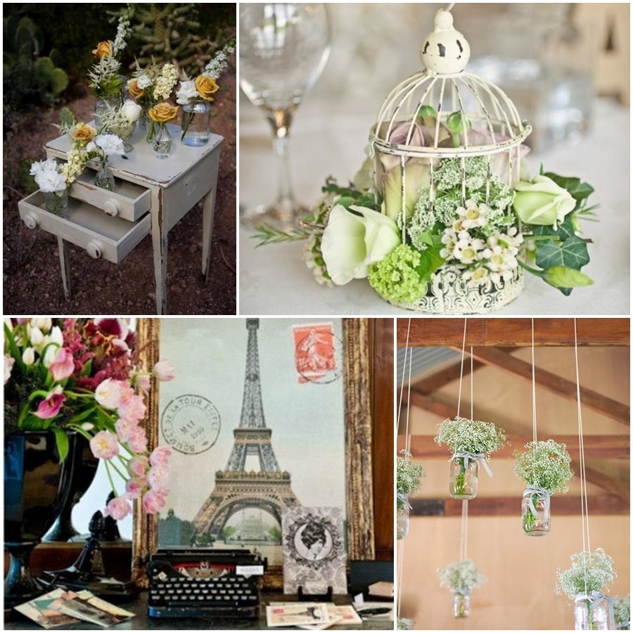 Estilo de boda vintage for Boda vintage