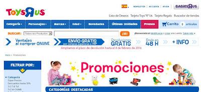 Promociones ToysRus