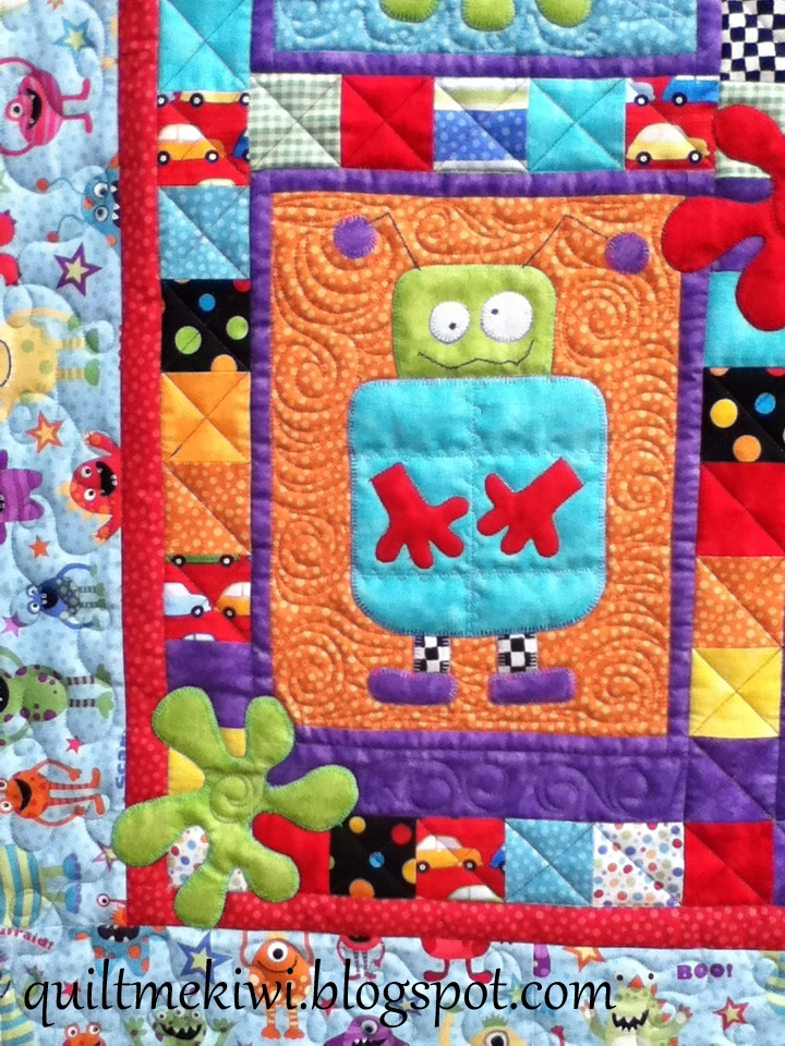 Quiltmekiwi Monsters And Rockets