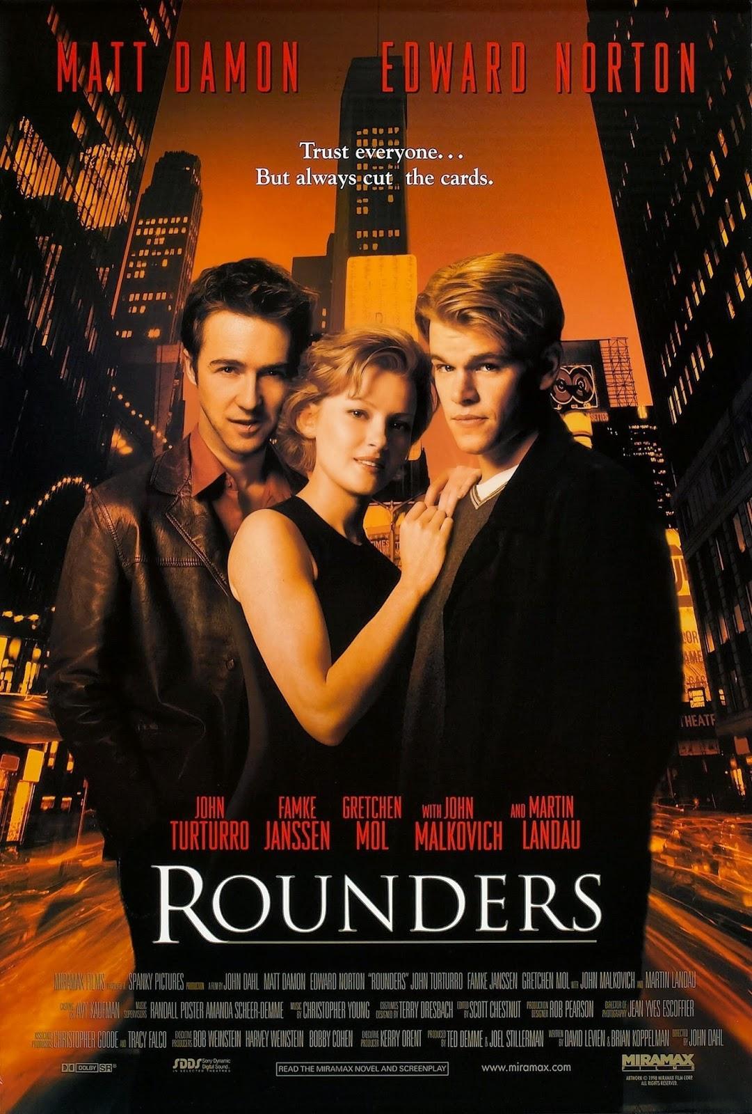 Rounders (1998) ταινιες online seires xrysoi greek subs