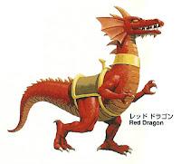 Red Dragon Golden Axe