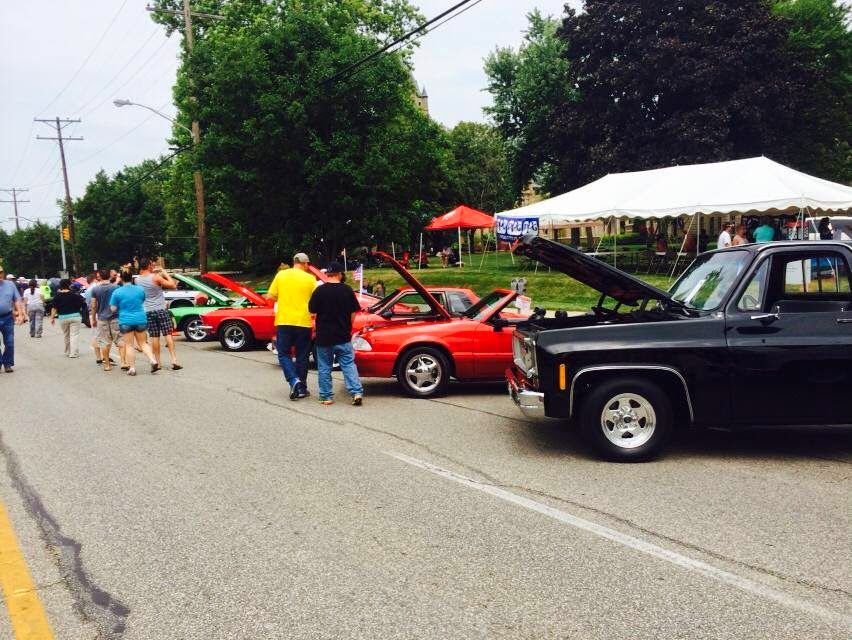 Blast From The Past Car Show  Delaware Ohio