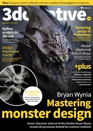 3D Creative Magazine Issue 107 July 2014
