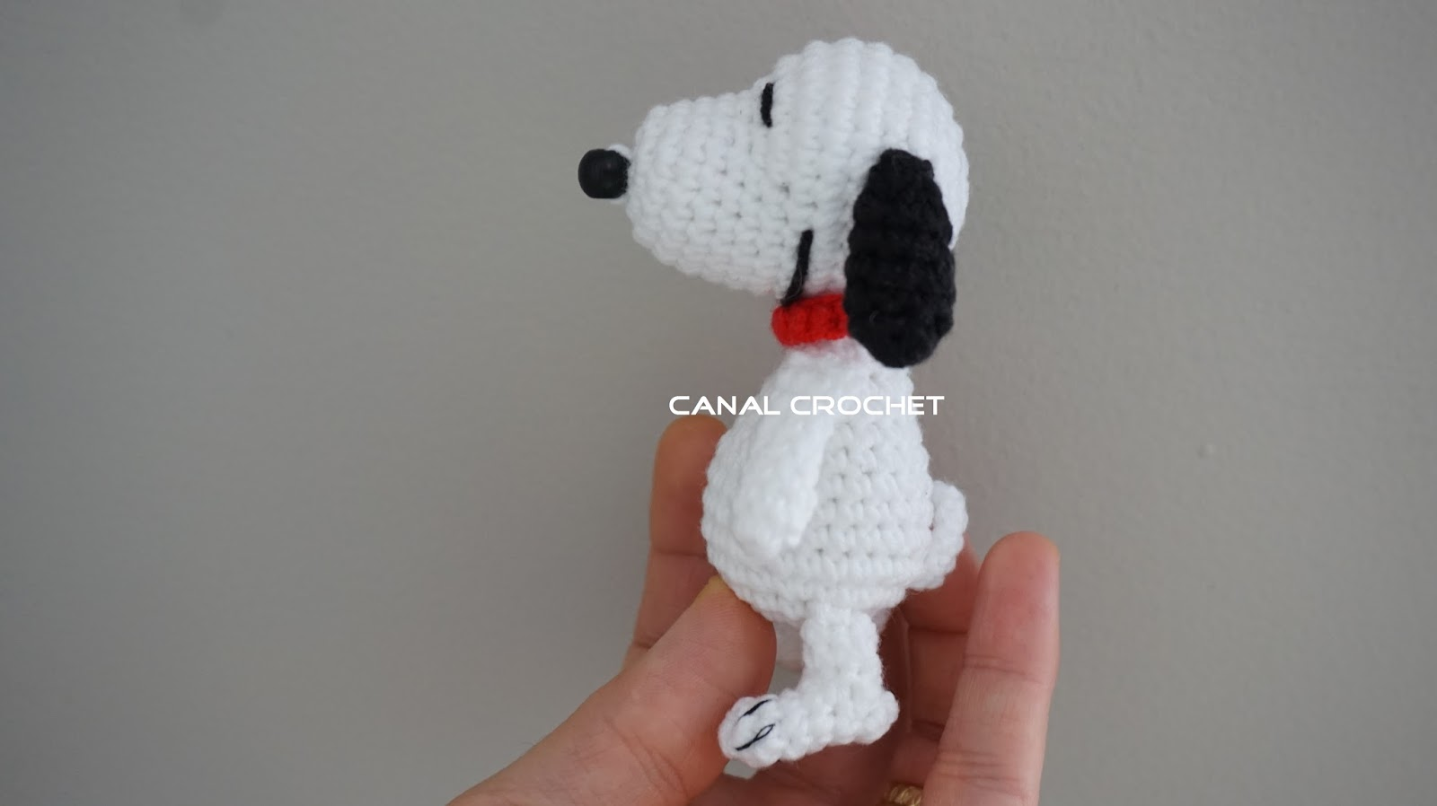 Amigurumi Patterns Snoopy : Canal crochet: snoopy amigurumi tutorial