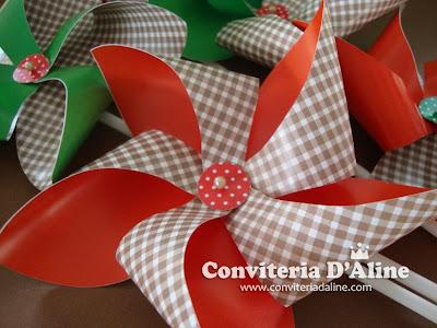 Catavento Festa Junina Decoração