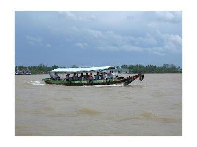 My Tho Tourist boat
