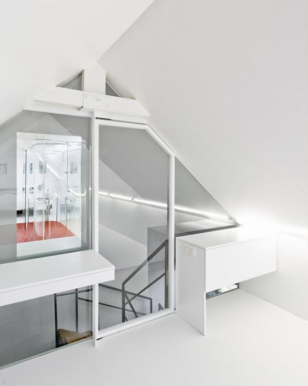 Incre ble ba o con paredes de cristal moderno y - Banos con paredes de cristal ...