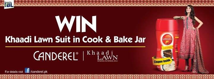 win a khaadi dress canderel pakistan