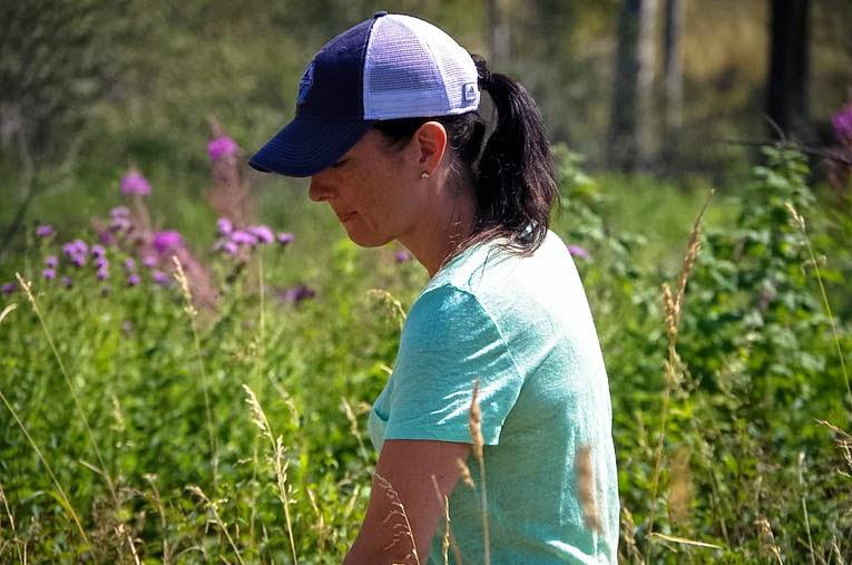 ranch life. Girl in Grass. Beyond the Blue umbrella