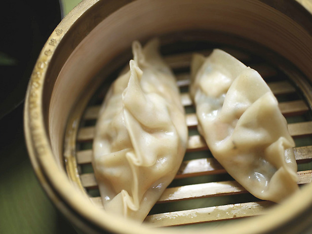 Healthy Diet Meals: Vegetarian Steamed Dumplings