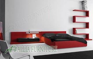 model tempat tidur desain minimalis modern