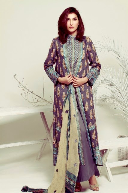 Summer Lawn Collection 2014 by Thredz