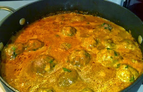 Soft and delicious bottle gourd koftas