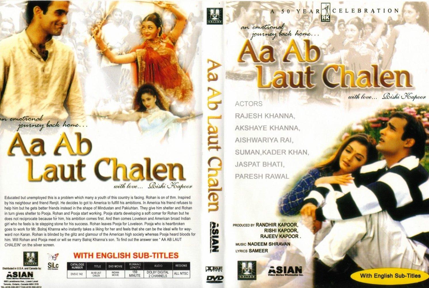 Aa Ab Laut Chalen Songs List