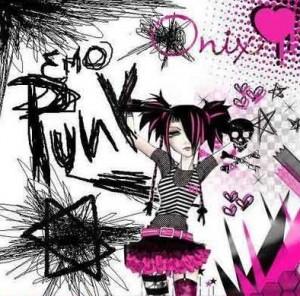 gambar emo punk