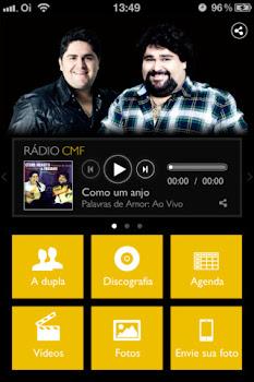 App Store com aplicativo CMF
