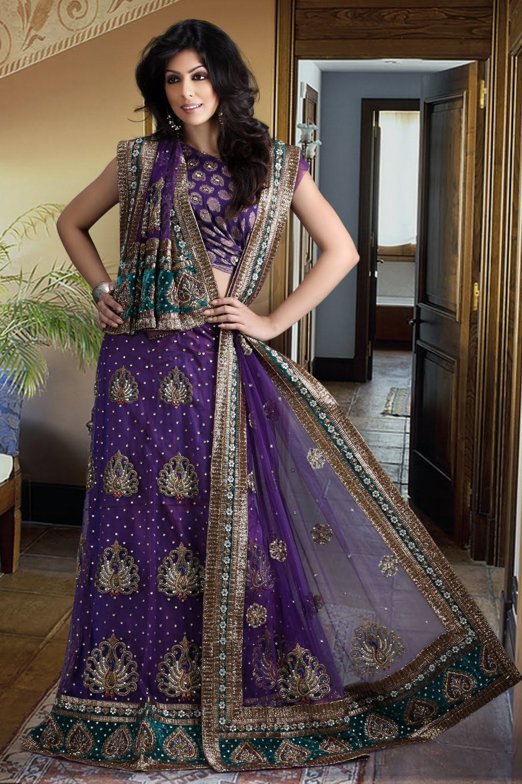 Online collection of indian lehenga choli, bridal lehenga choli ...