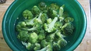 brokoli, soup, kuah, brokoli polos