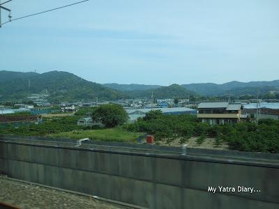 Amazing views of Japan from the Shinkansen Nozomi Bullet train
