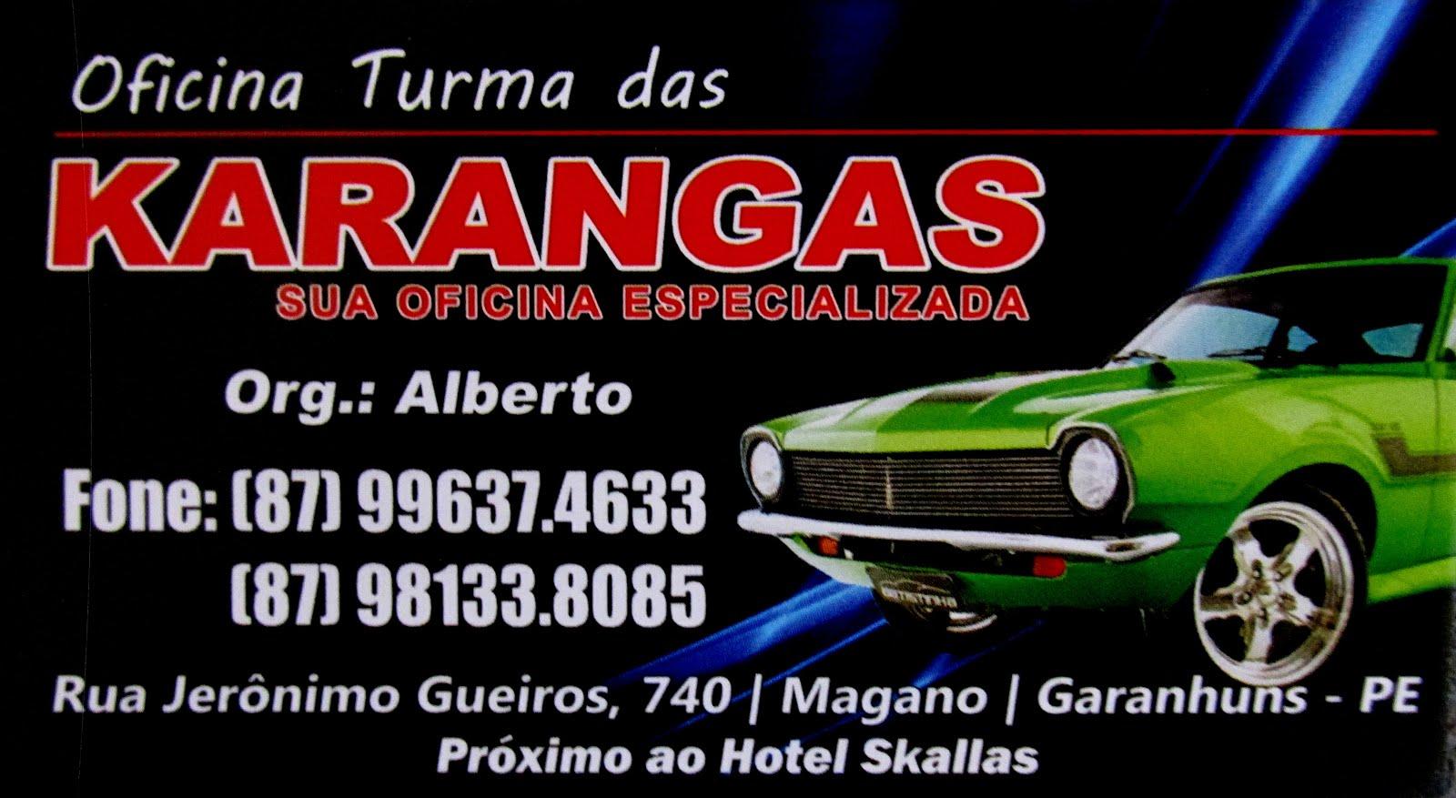 KARANGAS - SUA OFICINA ESPECIALIZADA
