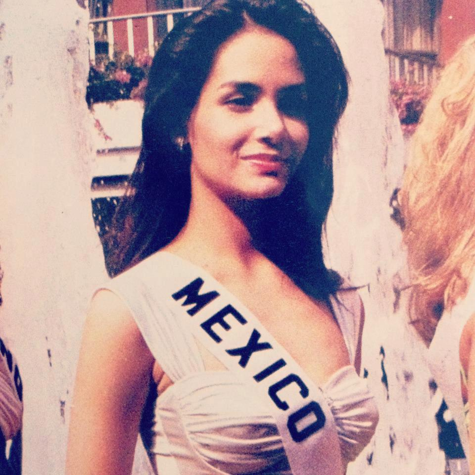 Displaying 16> Images For - Lupita Jones Miss Universo...