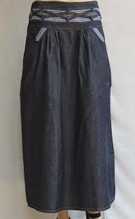 Skirt Jeans Long RM328-2