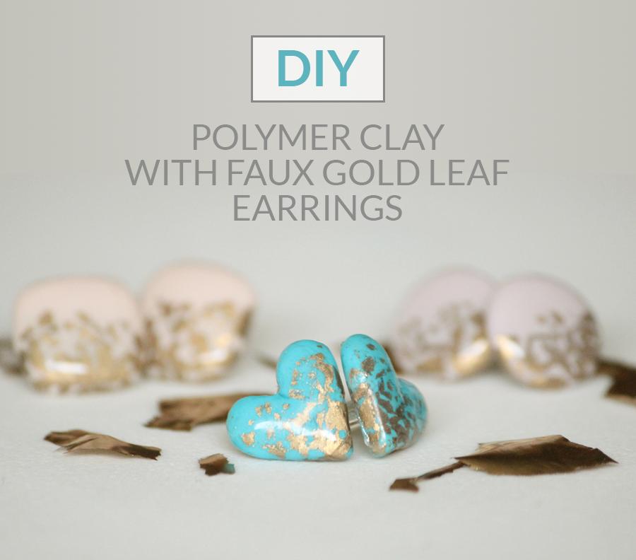 http://www.thecreativeglow.com/2015/03/diy-polymer-clay-faux-gold-leaf-earrings.html