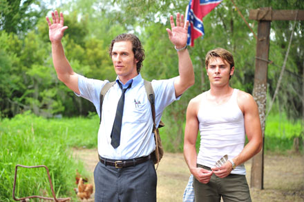 The Paperboy Ward Matthew McConaughey & Jack Jansen, Zac Efron deep in redneck country