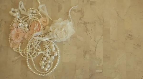 DIY - customizar blusa com pérolas e flores - Faça você mesmo - how to do