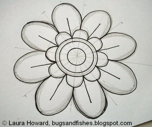 Cute Flower Patterns To Draw Images amp Pictures Becuo