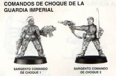 Sargentos de los Comandos de Choque de la Guardia Imperial