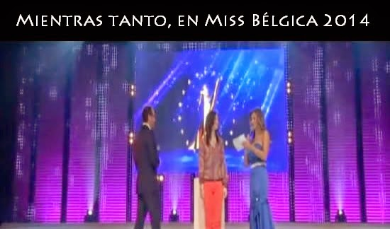 Mientras tanto, en Miss Bélgica 2014