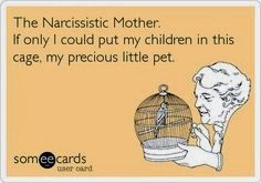 Characteristic traits of narcissistic mothers