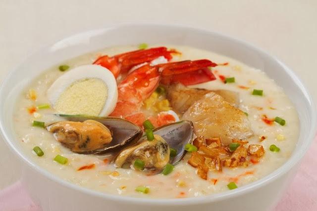 Creamy Seafood Arroz Caldo Recipe