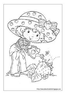 Strawberry Shortcake Coloring