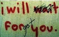 Nunca te olvidaré
