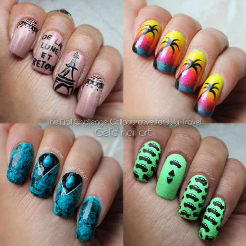 Gelic nail art ncc presents summaries for june and july and a bonus pic just bought some fun stuff from essence couldnt help my self and bought the new nudes essence make up palette prinsesfo Images