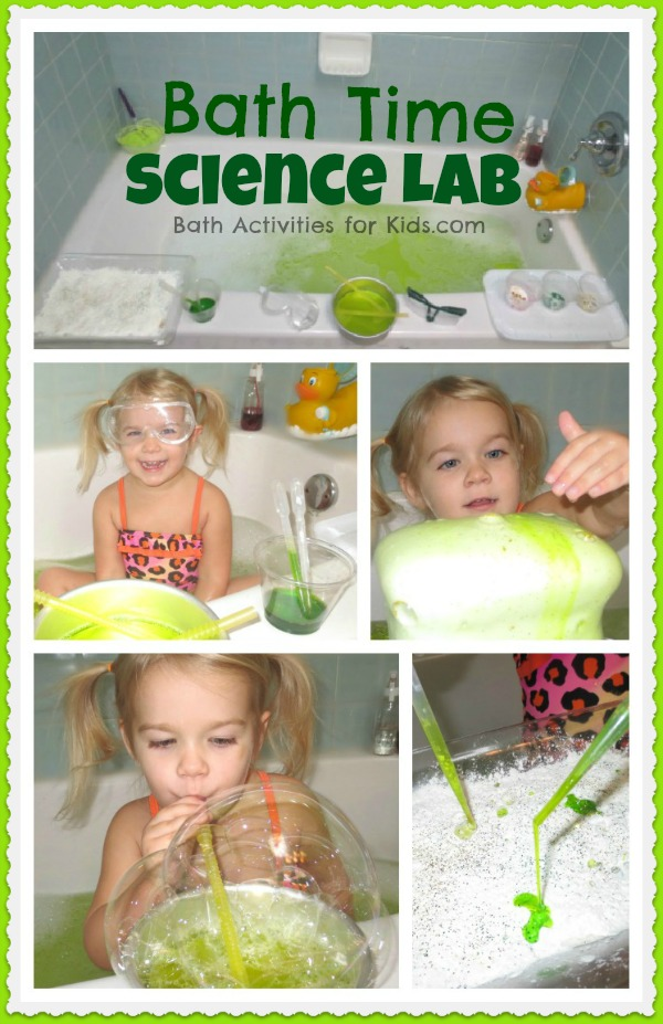 Bath Time Science Lab