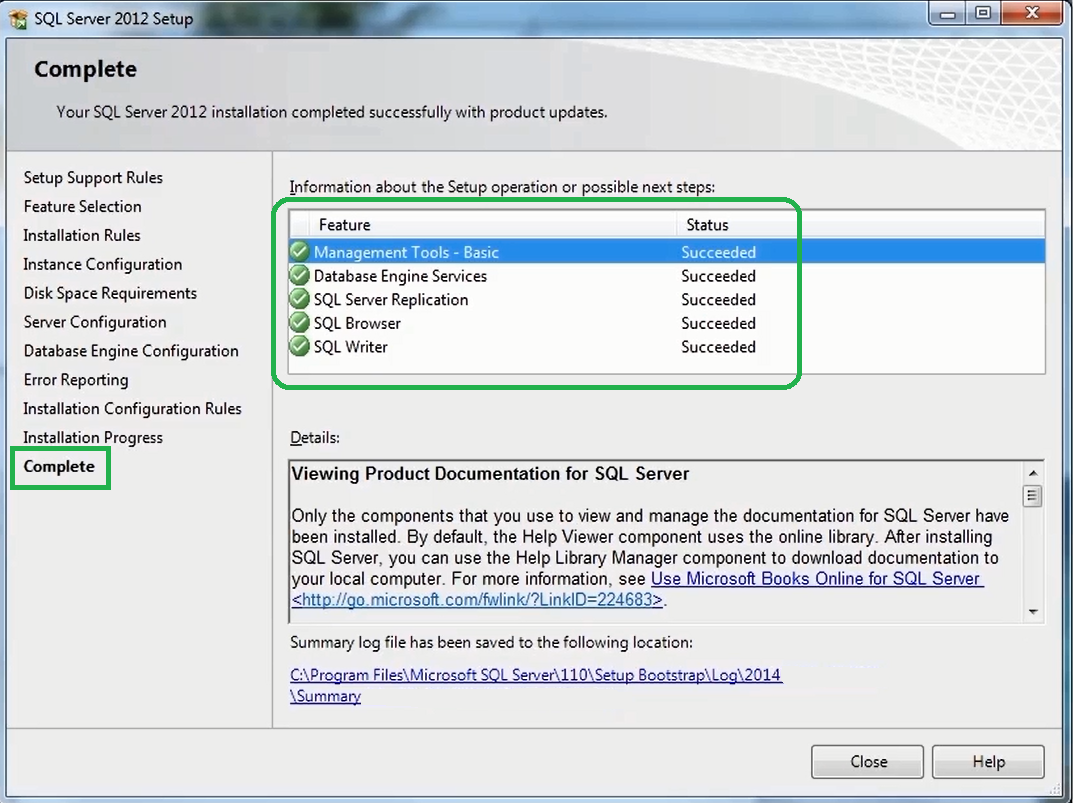How to Install SQL Server 2012 Express   11