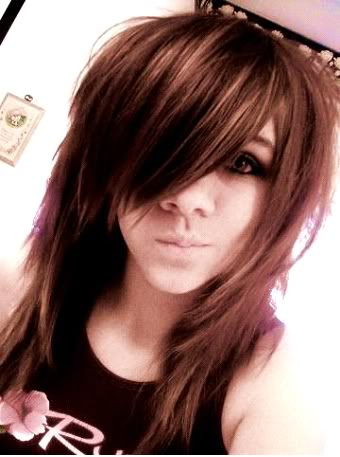 hot things are here emo hairstyles girls