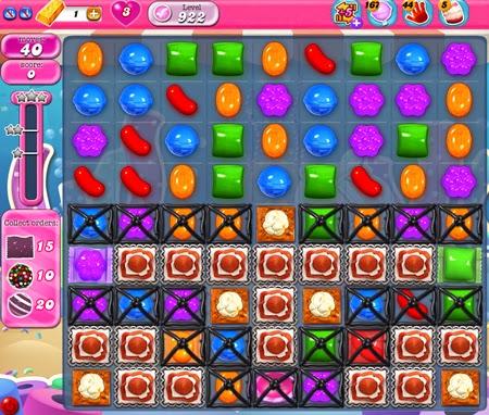 Candy Crush Saga 922