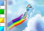 Rainbow Dash Tail
