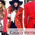 Como usar casaco vermelho
