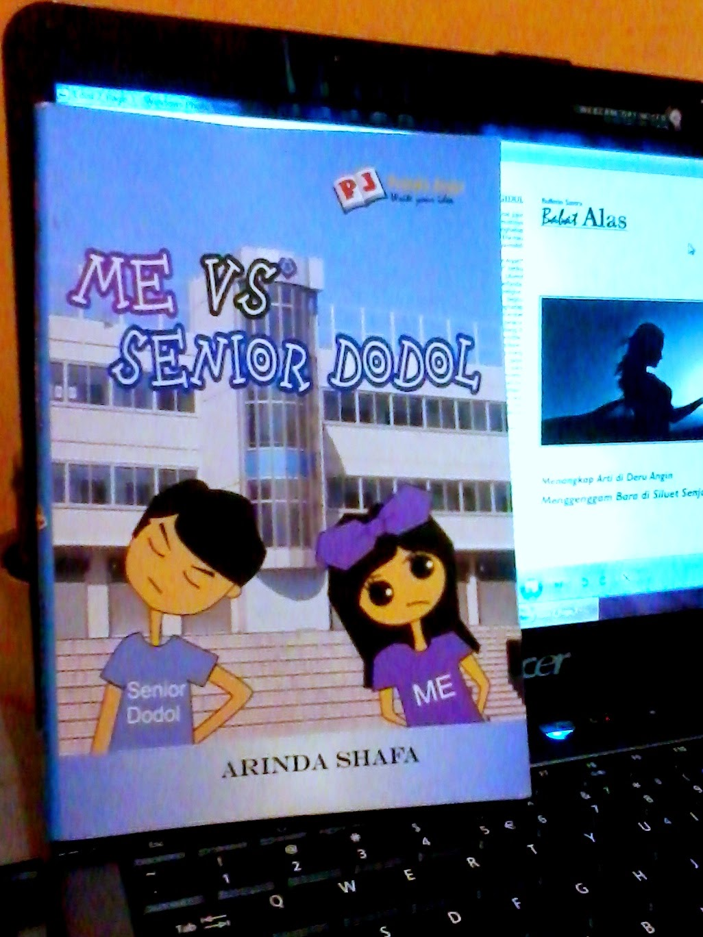 Me vs Senior Dodol karya Arinda Shafa