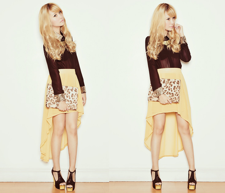 magic high low dresses fashion high low skirts