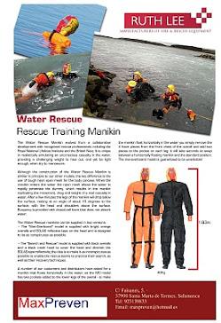 Dummy rescate acuático