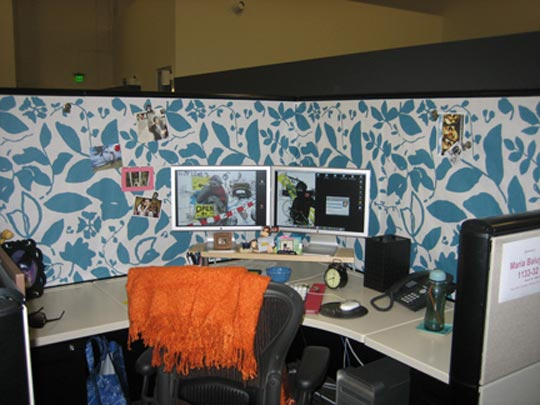 Office Cubicle Decorating Ideas | Home Interior Design